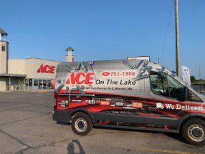Ace On The Lake Delivery Van